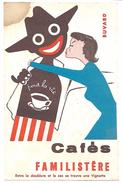 BUVARD - Cafés FAMILISTERE - Café & Thé