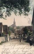 MIETESHEIM  I. Els. -  RUE PRINCIPALE  -   Novembre 1904 - Autres Communes