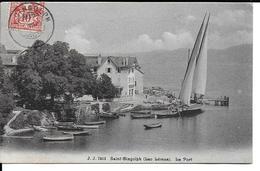 CPA  SAINT-GINGOLPH, Le Port 12279 - VS Valais