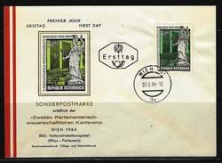 ÖSTERREICH - FDC Mi-Nr. 1152 Parlamentarisch-Wissensch Aftliche Konferenz, Wien Stempel WIEN (1) - FDC