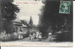 CPA  LUXEUIL LES BAINS, Un Coin Du Parc De L'établissement Des Eaux 13293 - Luxeuil Les Bains