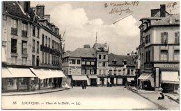 27 LOUVIERS - Place De La Halle     (Recto/Verso) - Louviers