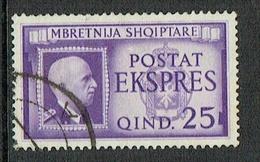 ITALY Albania 1940 Special Delivery Espresso Used, Sassone E1 - 9. Ocupación 2ª  Guerra (Italia)