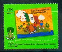 Mexique Mexico 1999 - Education, Accès Gratuit Aux Livres / Education, Free Access To Books - MNH - Autres