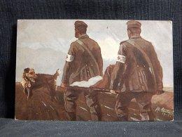 Germany Sanitätshund Im Felde -16__(16506) - War 1914-18