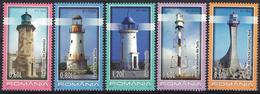 B 60, Romania, 2010, Lighthouses , MNH