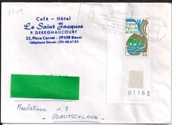 YT 1849  SSL   FRANCE  OBL DOUAI PPAL 15/9/75 FLAMME FOIRE EXPO BASSIN MINIER - 1961-....