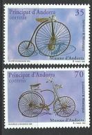 "Andorre Esp. YT 247 Et 248 "" Musée D´Andorre "" 1998 Neuf** - Unused Stamps"