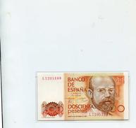 PRECIOSO BILLETE NUEVO - INTACTO - 200 PESETAS - 16 DE SEPTIEMBRE 1980 - CLARIN - [ 4] 1975-… : Juan Carlos I