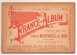 Album FRANCE-ALBUM   N° 33 Montreui S/mer Pas-de-Calais 66 Dessins Originaux - Bücher, Zeitschriften, Comics