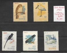 Oiseau Cygne - Corée Du Nord N°388 à 392 1962 ** - Pájaros