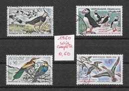 Oiseau - France N°1273 à 1276 1960 O - Non Classés