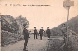 71 - Roussillon-en-Morvan - Sauts De La Canche - Virage Dangereux - France