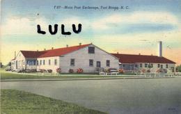 AMERIQUE : Carte Toilé : N C ; Main Post Exchange Fort Bragg ( Base Militaire ) - Etats-Unis