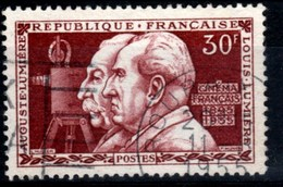 France - Timbre De 1955 - Auguste Et Louis Lumière  Le Cinéma  - Yvert 1033 - France