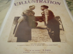 ANCIENNE COUVERTURE ILLUSTRATION DE 2 DICTATEURS 1934 - 1939-45