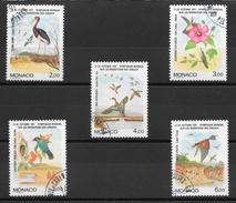 Oiseau - Monaco N°1754 à 1758 1991 O - Pájaros