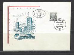 ÖSTERREICH - FDC Mi-Nr. 1153 - BOGENMARKE - Freimarke: Bauwerke Kleineres Format Stempel WIEN (13) - FDC