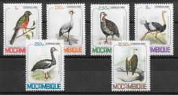 Oiseau - Mozambique N°766 à 771 1980 ** - Non Classés