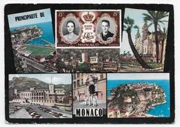 MONACO - N° 232 - MULTIVUES - CPSM GF NON VOYAGEE - Mónaco