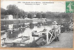 LE PERREUX - 94 - Pecheurs à La Ligne - LYO87 - - Le Perreux Sur Marne
