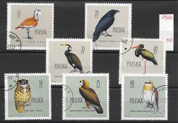 Oiseau Aigle Corbeau Hibou - Pologne N°1070 à 1076 (sauf 1075) 1960 O - Pájaros