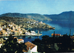 24139. Postal Antigua SYMI , Dodecaneso (Grecia). Vista General - Grecia