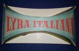 "05738 ""TAMPONE ASCIUGANTE - LYRA ITALIANA"" PUBBLICITARIO ANIMATO - Pubblicitari"