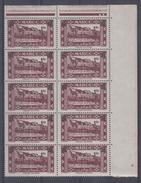 MAROC - 296/298** (bloc De 10) - Unused Stamps