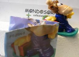 MONDOSORPRESA, (SC82) FERRERO MAXI NATALE, FT25N5, RENNA CON SNOWBOARD + CARTINA - Maxi (Kinder-)
