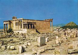 24140. Postal Antigua ATENAS (Grecia). Templo De Las Cariatides. The Caryatids - Grecia