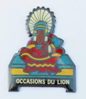 Pin's OCCASIONS DU LION - Le Chef Indien - G286 - Peugeot
