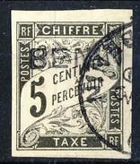 Benin Tasse 1894 N. 1 C. 5 Nero Usato Cat. € 80