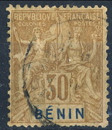 Benin 1894 N. 41 C. 30 Bruno Usato Cat. € 13