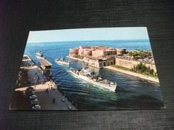 NAVE SHIP GUERRA IL RIENTRO DELLA SQUADRA TARANTO - Guerra