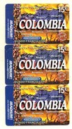 CARTES PREPAYEES IRADIUM  *15e *15e *15e   Colombia  (lot De 3) 7789 - France