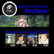 MOZAMBIQUE 2014 SHEET MARY POPPINS CINEMA CINE Moz14320a - Mozambique