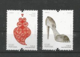Portugal 2013 , Mi.Nr. 3878 / 79 , A Arte De Joana Vasconcelos - Postfrisch / MNH / Mint (**) - Nuevos