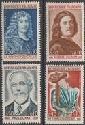 France 1965 N° 1442-1445 NMH Célébrités (E11) - France