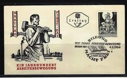 ÖSTERREICH - FDC Mi-Nr. 1172 - 100 Jahre Arbeiterbewegung Stempel WIEN (10) - FDC
