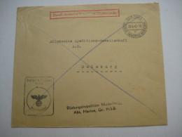 1942 , DEN HAAG - Rüstungsinspektion , Briev - Periode 1891-1948 (Wilhelmina)
