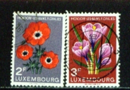 LUXEMBOURG  -  1956  Flower Show  Set  Used As Scan