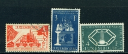 LUXEMBOURG  -  1956  Coal And Steel  Set  Used As Scan