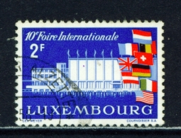 LUXEMBOURG  -  1958  International Fair  2f  Used As Scan