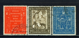 LUXEMBOURG  -  1958  St Willibrord  Set  Used As Scan