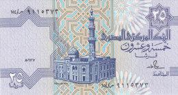 EGYPT 25 PT 1987 P-57 SIG/S.HAMED #18 UNC */* - Egypte