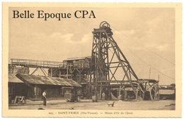 87 - SAINT-YRIEIX - Mines D'Or De Cheni +++ La Cigogne, #225 +++ RARE - Saint Yrieix La Perche