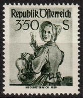Österreich MiNr. 923 ** Freimarken: Trachten - 1945-.... 2. Republik