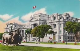 Cartolina - Postcard  -  LIMA - PERU' - PASEO DE LA REPUBBLICA PALACIO DE JUSTICIA - Perù
