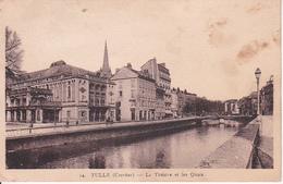 CPA Tulle - Le Théâtre Et Les Quais - 1942 (28490) - Tulle